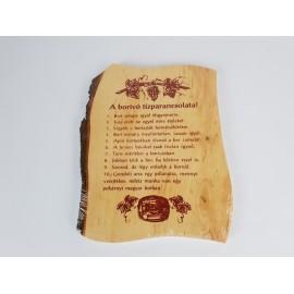 Borivó tízparancsolata
