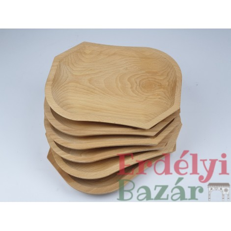 Bükkfa tányér garnitúra