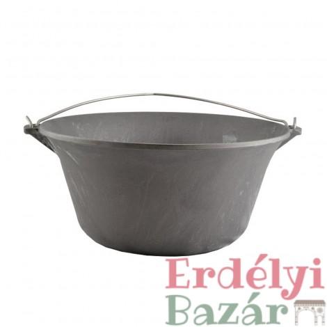 Öntöttvas gulyásbogrács 14,5 literes