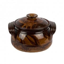 Cserépedény 3,5 literes kerámia főzőedény