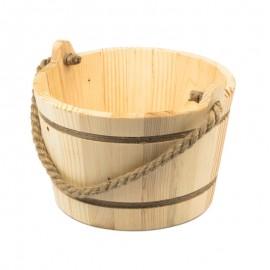 Kötél fülű fa vödör