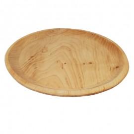 Kerek fa pizzás tányér 30cm