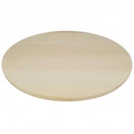 Kerek fatál, pizzás tányér, vágódeszka 50 cm