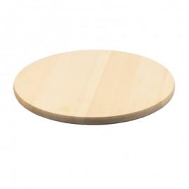 Kerek fatál, pizzás tányér, vágódeszka 35 cm