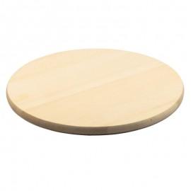 Kerek fatál, pizzás tányér, vágódeszka 40 cm