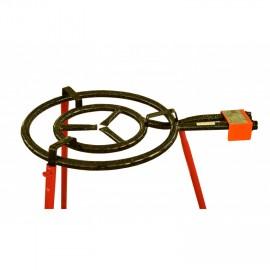Paella gázégő 2 körös 50 cm