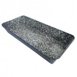 Kacsasütő zománcozott tepsi 35 × 17 cm