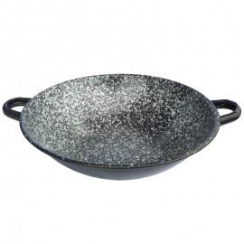 Zománcozott wok 30cm