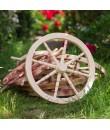 Fa kerék, szekérkerék fából 48cm